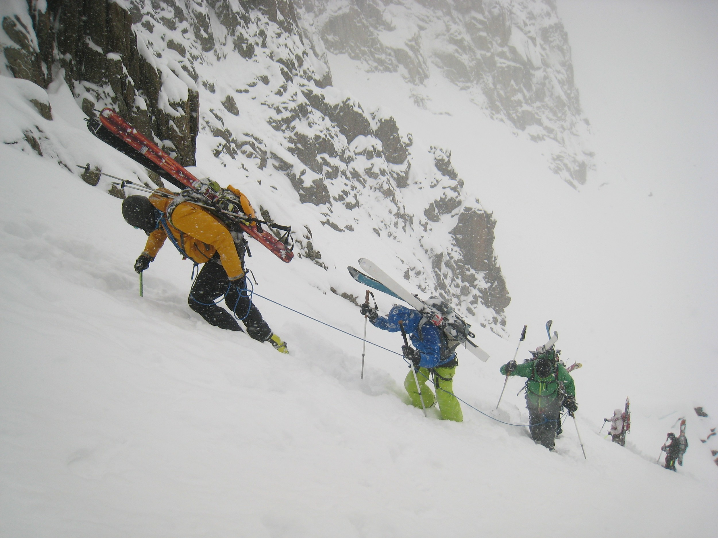 Ski touring course - Advanced